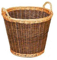 Log Basket Two Tone Round 1355