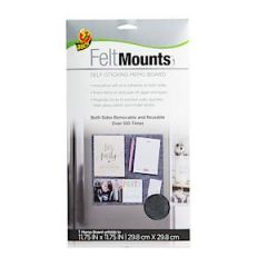 Duck Felt Mount Grey 29.8X29.8Cm