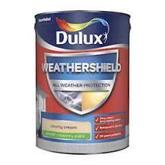 Dulux Weathershield Mason Smth Cnty Cream 5L