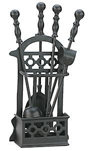 Victorian Black Companion Set 1145