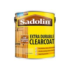 Sadolin Extra Clearcoat Satin 2.5L