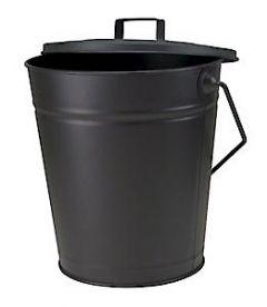 Dudley Coal Bucket&Lid Blk 1362