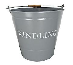 Kindling Bucket Grey 0346