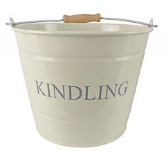 Small Kindling Bucket Cream 0360