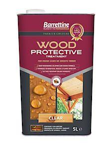 Barrettine Wood Protect Clear 5L