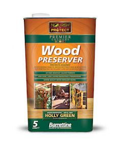 Barrettine Wood Protect For Green 5L
