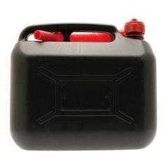 Diesel Fuel Can Black Plastic 10 Litre