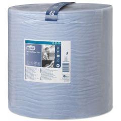 2 Ply Premium Wiping Paper Plus Blue 510M Bumper Roll