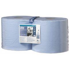 2 Ply Premium Wiping Paper Plus Blue 2 X 255M Combi Rolls