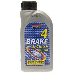 Dot 4 Synthetic Brake Clutch Fluid 500Ml