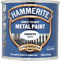 Direct To Rust Metal Paint Smooth White 250Ml