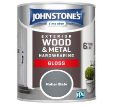 Johnstone's Exterior Hardwearing Gloss 750Ml Moher Slate