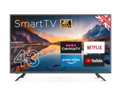 Cello 4K Ultra Hd Led Smart Tv With Wi-Fi And Freeview T2 Hd 43