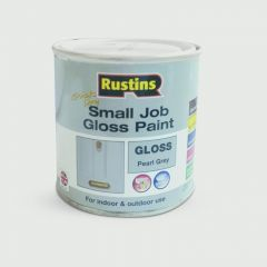 Rustins Quick Dry Small Job 250Ml Pearl Grey