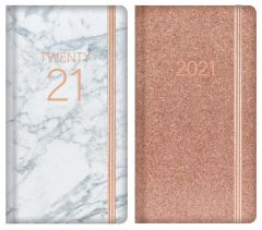 Slim Diary With Foil