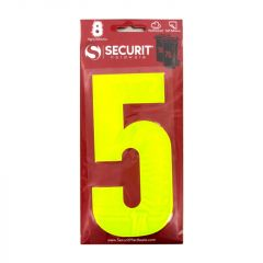 Hi Vis Self Adhesive Wheelie Bin Numbers