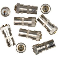 Supalec Coaxial Female Plug Metal