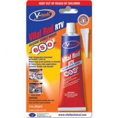 Streetwize V-Tech Gasket Makers - 85G Vital Red Rtv