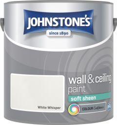 Johnstone's Wall & Ceiling Soft Sheen 2.5L White Whisper