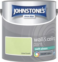 Johnstone's Wall & Ceiling Soft Sheen 2.5L Lime Crush