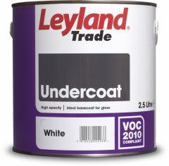 Leyland Trade Undercoat 2.5L White