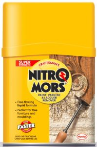 Nitromors Craftsman's Paint Varnish & Lacquer Remover 375Ml