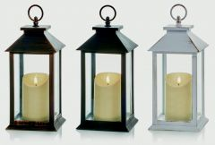 Lantern With Flickabright Candle