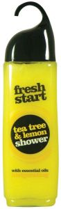 Fresh Start Shower Gel 420Ml Tea Tree & Lemon