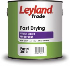 Leyland Trade Fast Drying Undercoat 2.5L Brilliant White