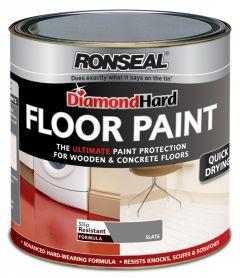 Ronseal Diamond Hard Floor Paint 2.5L Slate