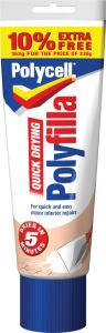 Polycell Quick Drying Polyfilla 330G Plus 10% Free
