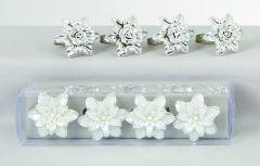 2 Assorted Set-4 Flower Napkin