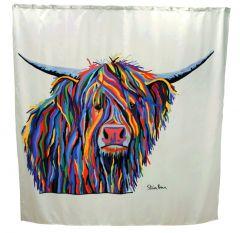 Croydex Shower Curtain Angus Mccoo