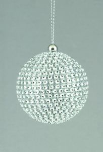 Silver Diamante Ball
