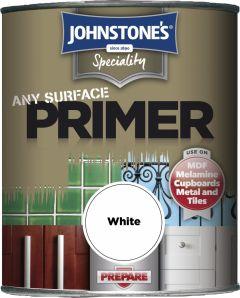 Johnstone's Any Surface Primer 750Ml White