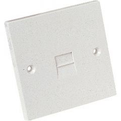Dencon Single Flush Extension Socket 3/6A Bubble Packed