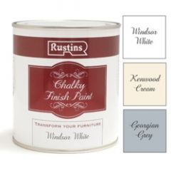 Rustins Chalky Finish 500Ml Windsor White