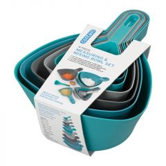 Chef Aid Measuring & Mixing Bowl Set 9 Piece