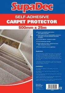 Supadec Carpet Protector Film 500Mmx25m
