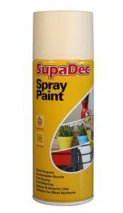 Supadec Spray Paint 400Ml Cream
