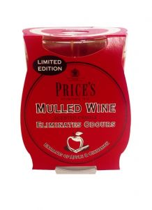 Price's Candles Limited Edition Jar Mulled Wine