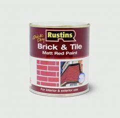 Rustins Quick Drying Brick & Tile 500Ml