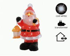Outdoor Led Acrylic Santa