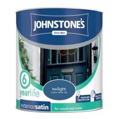 Johnstone's Exterior Quick Dry Satin 750Ml Twilight