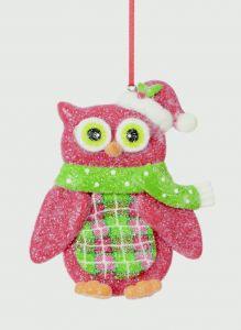 Claydough Owl Hanger