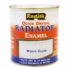 Rustins Qd Radiator Enamel Gloss 500Ml