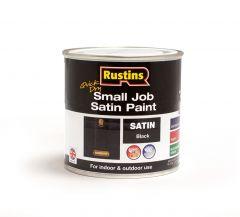 Rustins Qd Small Job Satin 250Ml Black