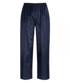 Orbit Atlantic 100% Navy Polyester Rain Trousers Xlarge
