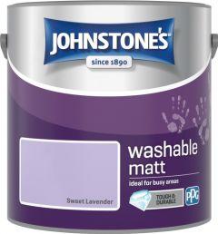 Johnstone's Washable Matt 2.5L Sweet Lavender