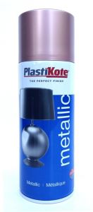 Plastikote Metallic Paint 400Ml Rose Gold